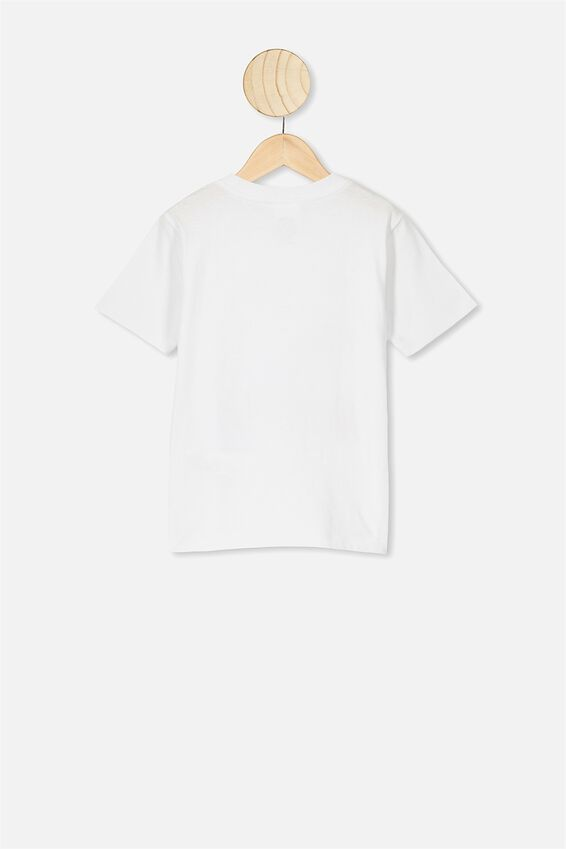 Co-Lab Short Sleeve Tee, LCN LIV FOO FIGHTERS SPACE WHITE