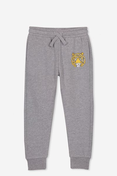 Lewis Trackpant, GREY MARLE/TIGER