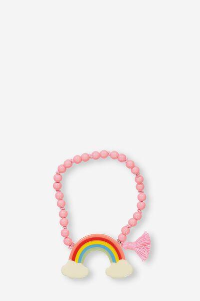 Fruity Charm Bracelet, RAINBOW