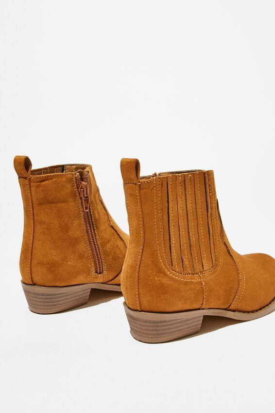 Western Boot, TAN