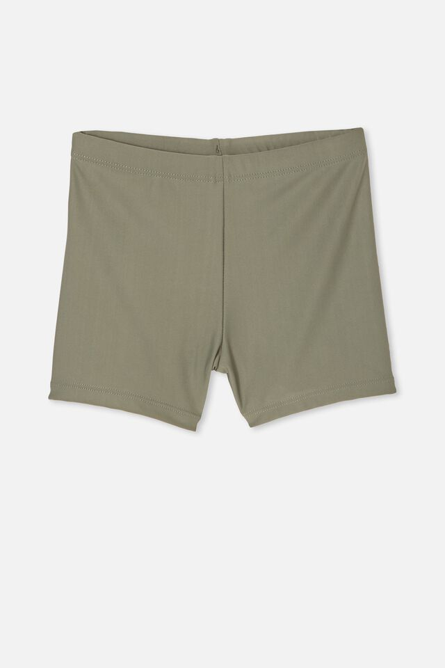 Billy Boyleg Swim Trunk, SWAG GREEN