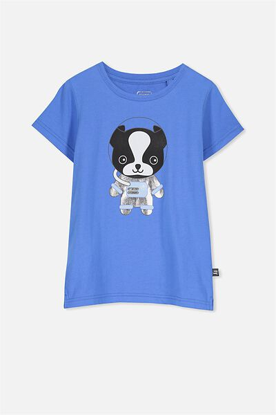 Sunny Buddy Ss T-Shirt, MAX/ASTRONAUT