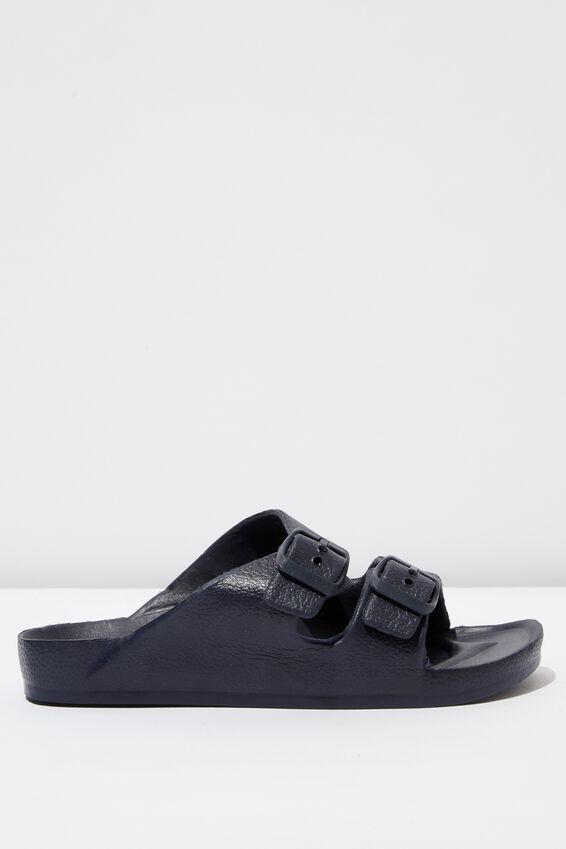 Twin Strap Slide, NEW NAVY