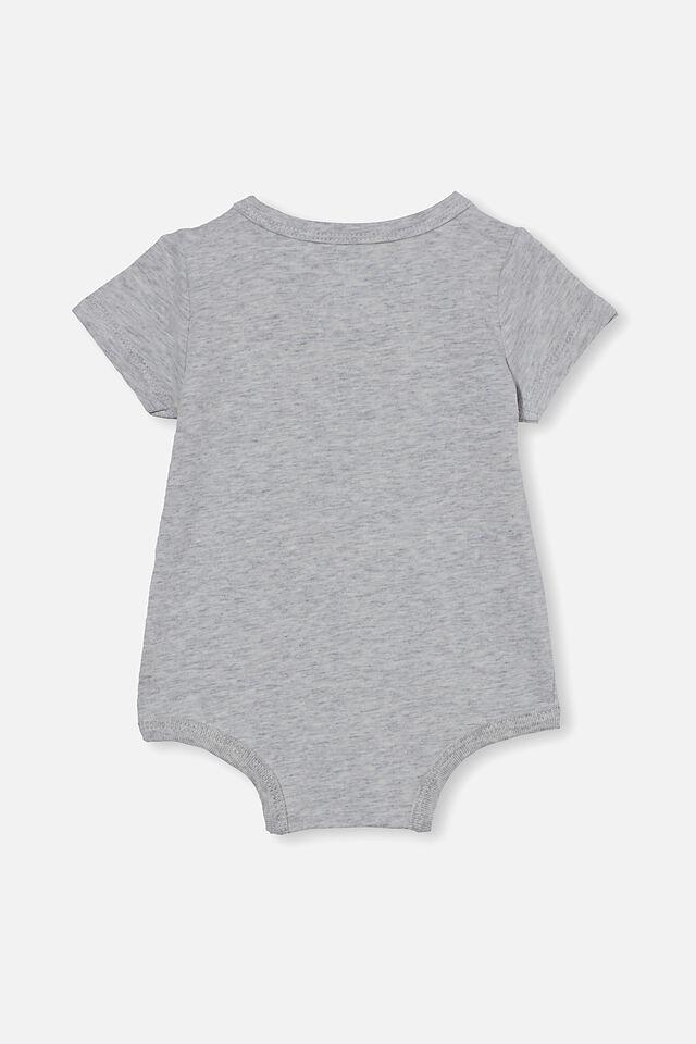 The Short Sleeve Bubbysuit, CLOUD MARLE