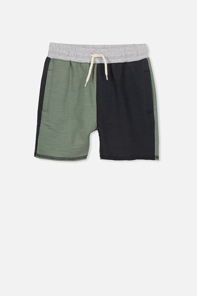 Henry Slouch Short, GREEN/PHANTOM SPLICE