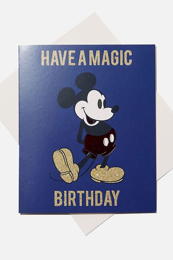Licensed Birthday Gift Card, LCN MICKEY BIRTHDAY CARD