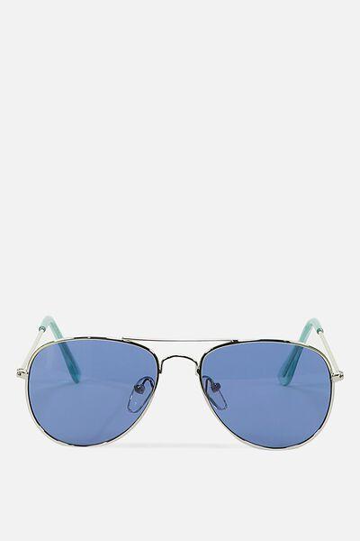 Pilot Sunnies, SUBTLE SILVER BLUE 2