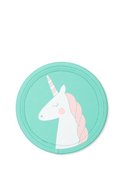 Kids Soft Flying Disc, PALE BLUE UNICORN