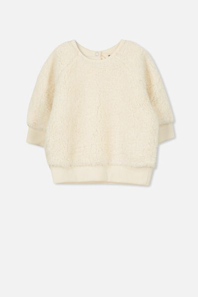 Avery Cozy Pullover, EGGNOG