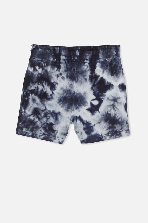 Henry Slouch Short 80/20, INDIAN INK/TIE DYE