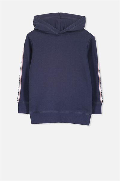 Liam Hoodie, WASHED NAVY/WE ARE THE FUTURE