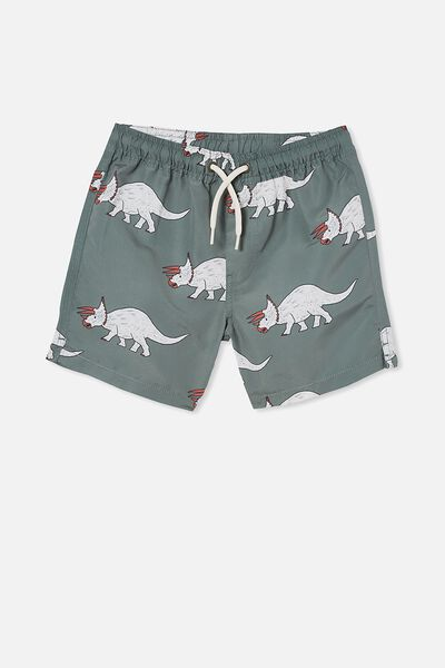 Bailey Board Short, SWAG GREEN/DINO