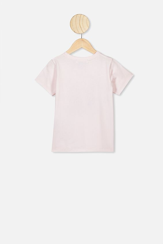 Lux Short Sleeve Tee, LCN DIS CRYSTAL PINK/PRINCESSES RUN THE WORLD