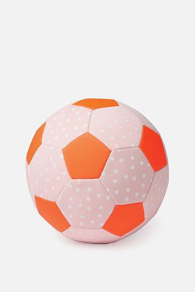 Kids Beach Soccer Ball, PINK SPOT