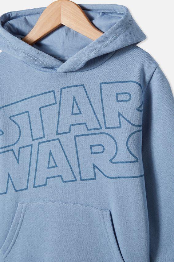 License Hoodie, LCN LU STAR WARS/DUSTY BLUE