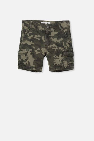 Chase Cargo Short, WINTER GREEN/CAMO