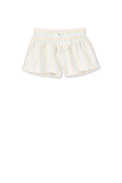 Fern Short, VANILLA/MULTI STRIPE