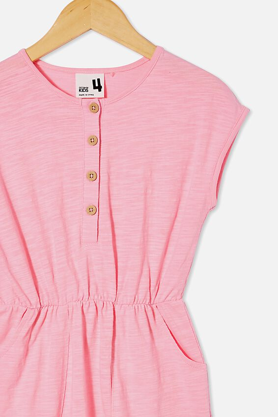 Sigrid Short Sleeve Dress, CALI PINK