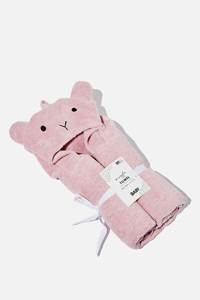 Baby Snuggle Towel, CLAY PIGEON