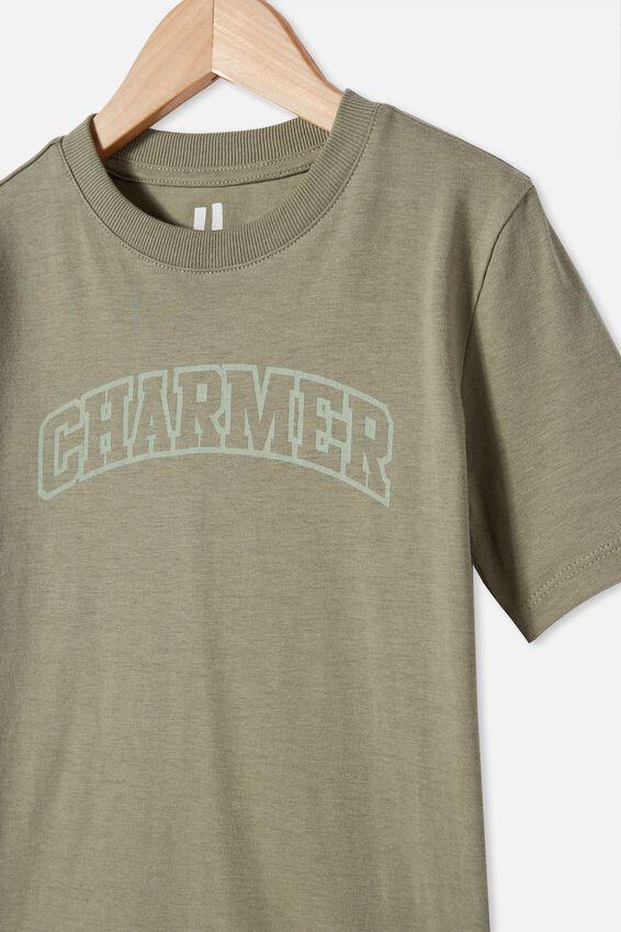 Max Skater Short Sleeve Tee, SILVER SAGE/ CHARMER