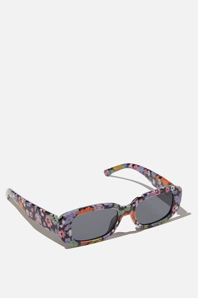 Kids Retro Sunglasses, INDIGO MIDDLETON FLORAL SQUARE