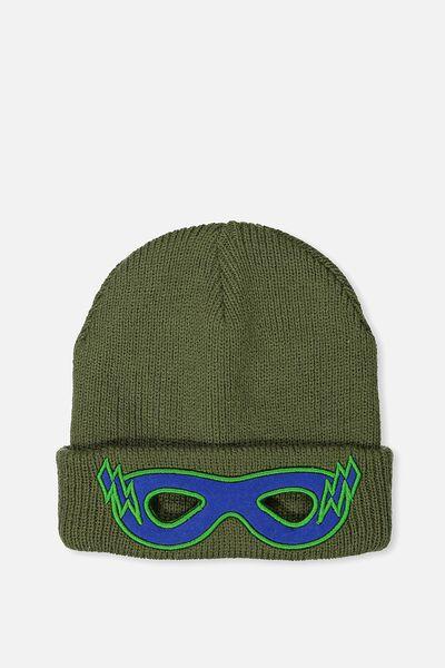 Winter Knit Beanie, MASK