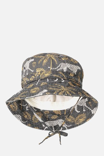 Kids Bucket Hat, LEOPARDS