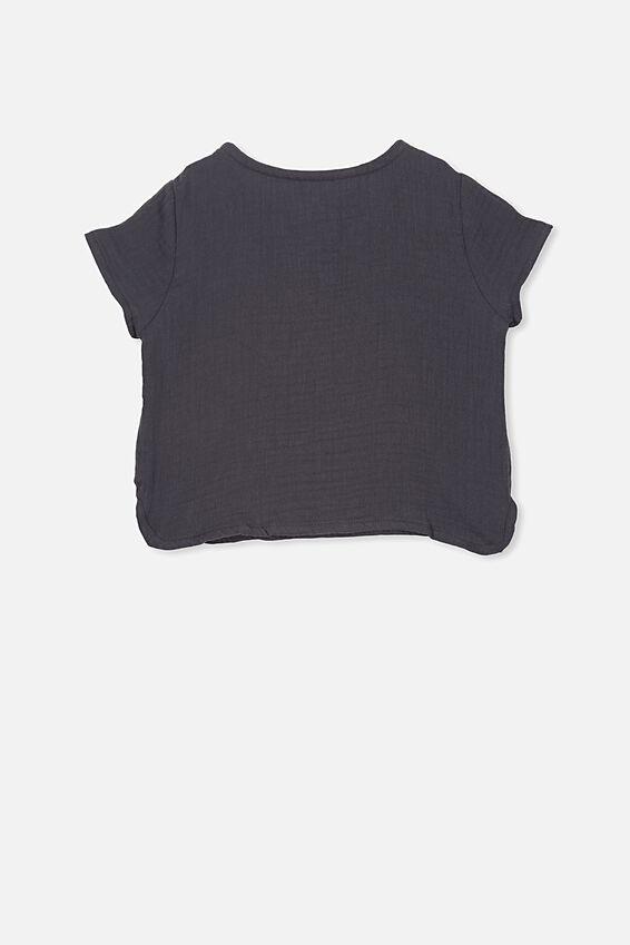 Tate Short Sleeve Shirt, GRAPHITE GREY