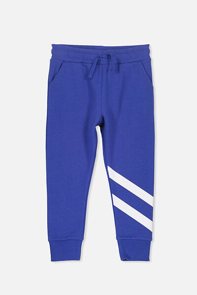 Kallie Trackpant, ADMIRAL BLUE/ANKLE STRIPE