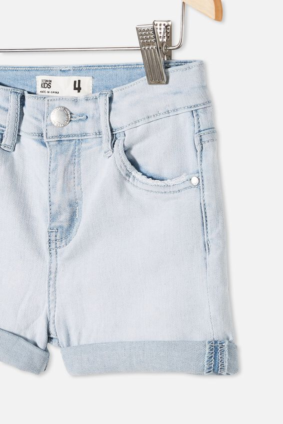 Camilla Denim Short, BLEACH WASH