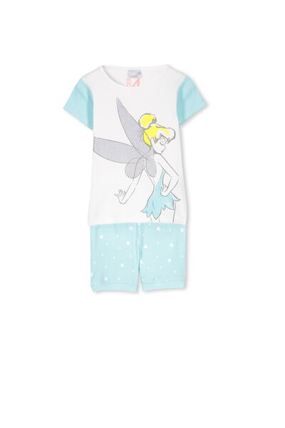 Tinkerbell Short Sleeve PJ Set, TINKERBELL STARS