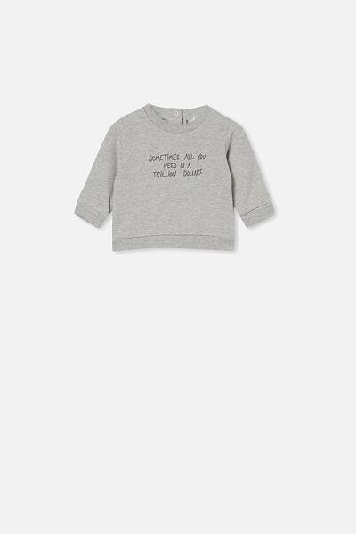 Billie Sweater, CLOUD MARLE/TRILLION DOLLARS