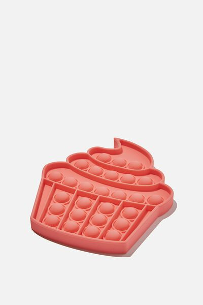 Snap Bubble Pop Fidget Toy, CUPCAKE