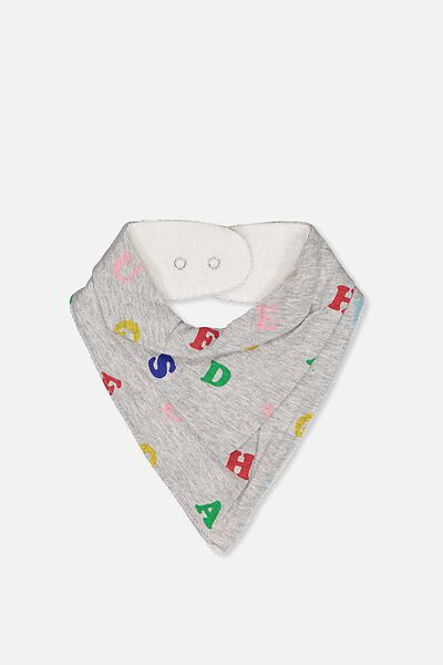 Dribble Bib, CLOUD MARLE/ABC