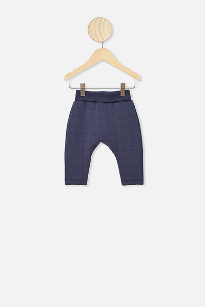 Rory Quilted Trackpant, VINTAGE NAVY