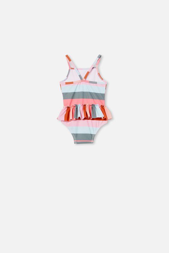 Lucinda Ruffle Swimsuit, GEMMA STRIPE