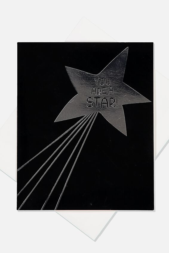Special Occasion Gift Card, YOURE A STAR