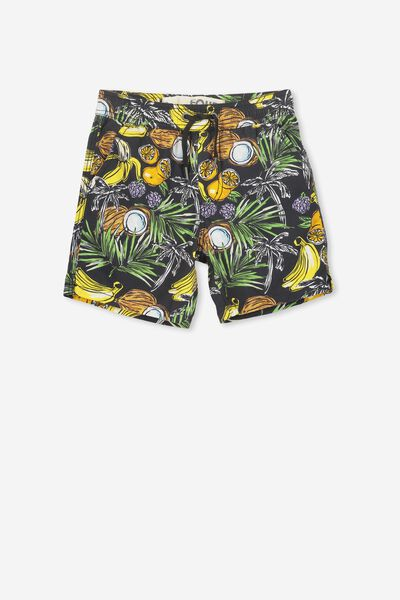 Murphy Swim Short, PHANTOM/FRUITS