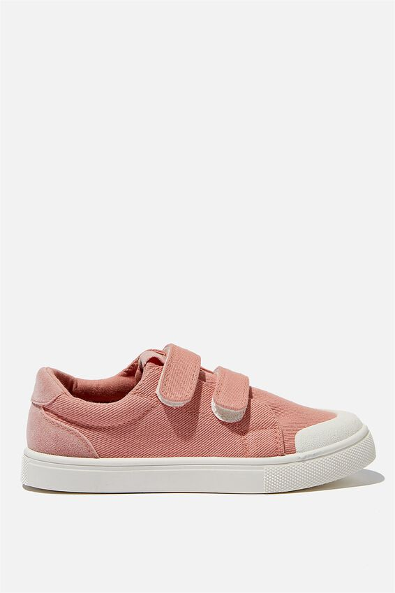 Multi Strap Trainers, DUSTY PINK