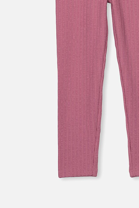 Huggie Tights, VERY BERRY TEXTURED RIB
