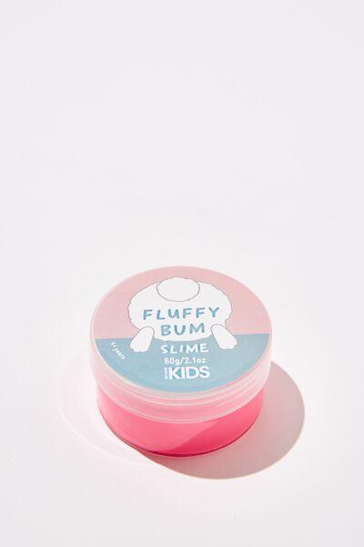 Kids Slime, FLUFFY BOTTOM/BRIGHT PINK