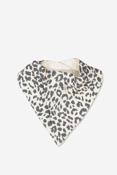 The Kerchief Bib, CARAMEL MARLE/SUMMER OCELOT