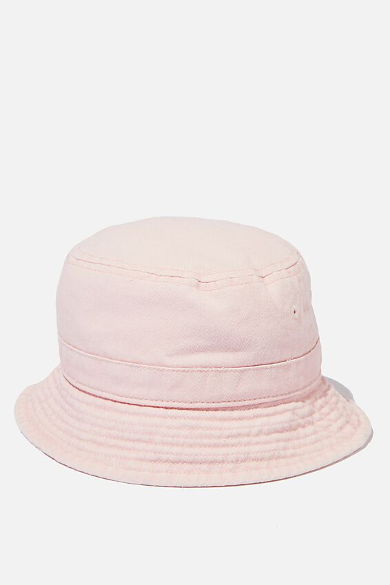 Baby Bucket Hat, MARSHMELLOW PINK
