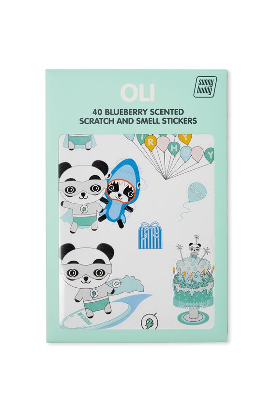 Sunny Buddy Scratch And Scent Sticker, OLI DRESS UP