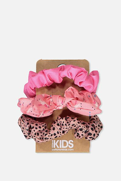 Mini Scrunchie, PINKS