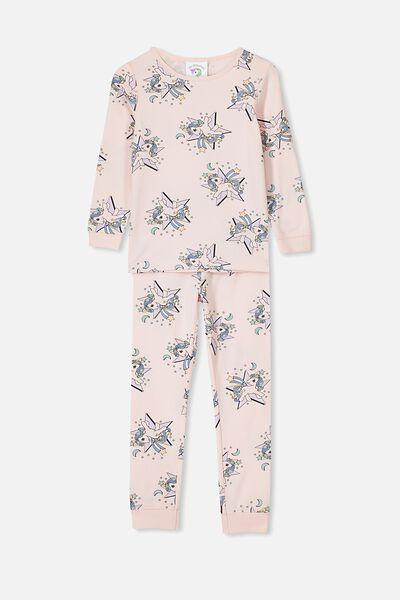 Lila Long Sleeve Pyjama Set, LCN HAS MY LITTLE PONY/STAR