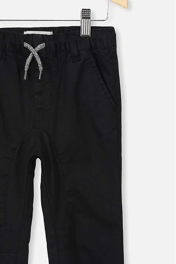 Logan Cuffed Pants, VINTAGE BLACK