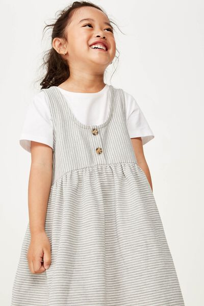 Anya Sleeveless Dress, SUMMER GREY MARLE
