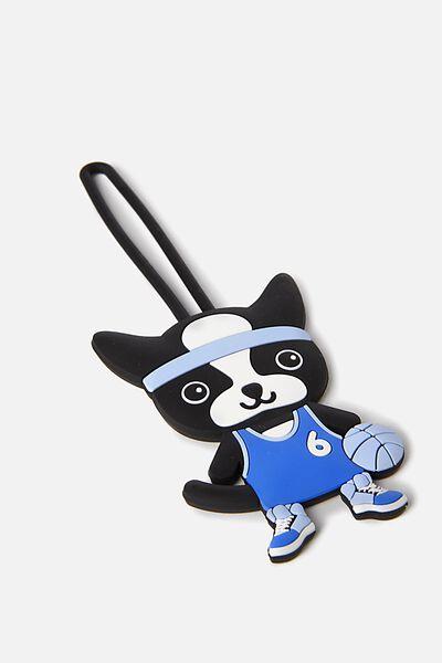 Sunny Buddy Sports Bag Tag, MAX BASKETBALL CORE