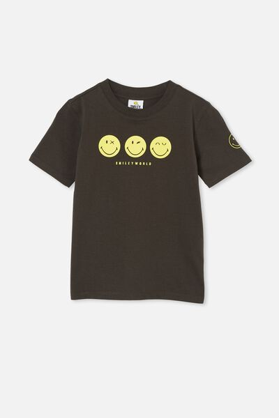 Co-Lab Short Sleeve Tee, LCN SMI PHANTOM/ SMILEY